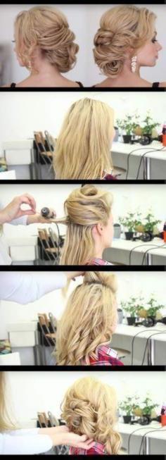 Schnell und einfach Hochsteckfrisuren für Frisure… – #einfach #Frisure #für …