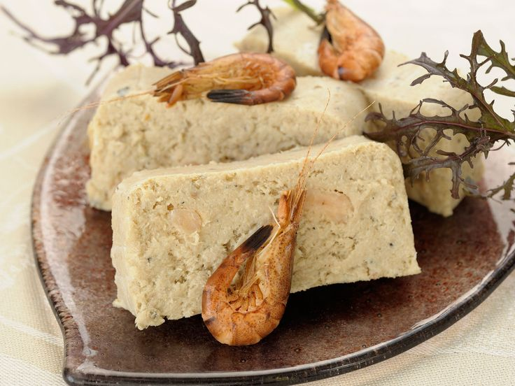 Terrine de poisson blanc et crevette