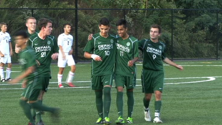 B. Soccer Mendoza delivers for DePaul in big win over