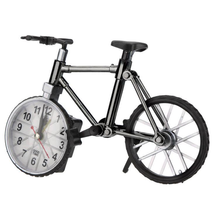 Bicycle Bike Model Clock Table Creative Alarm Clock Decoration Gift Craft