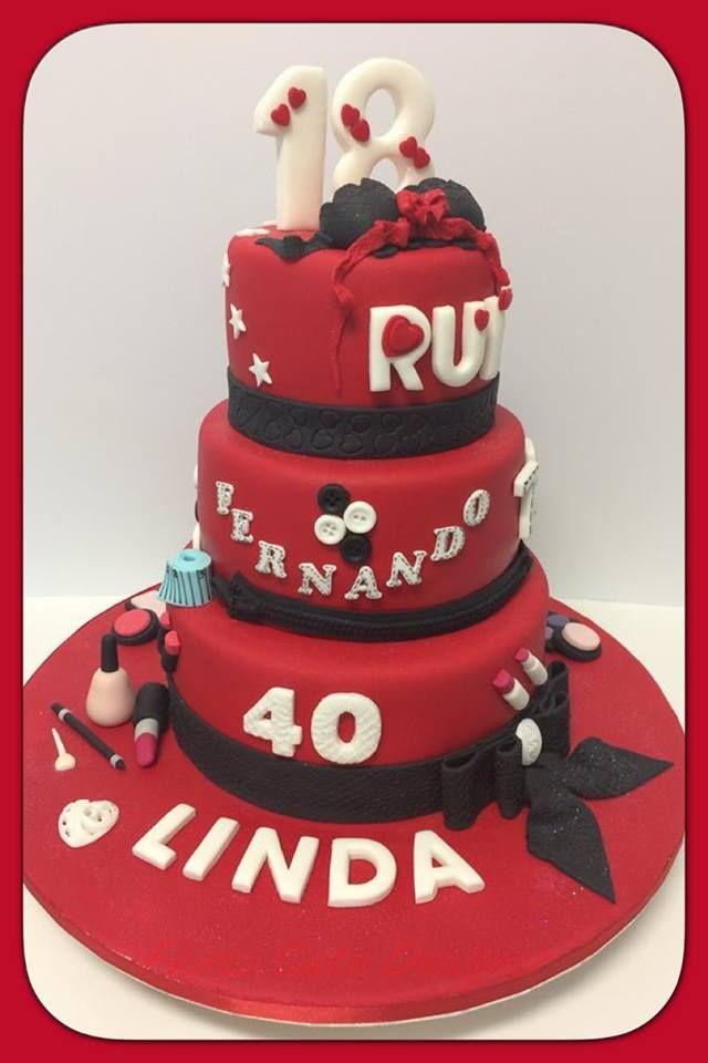 FLOWER CAKE DESIGNER: Bolo de aniversário com vários temas
