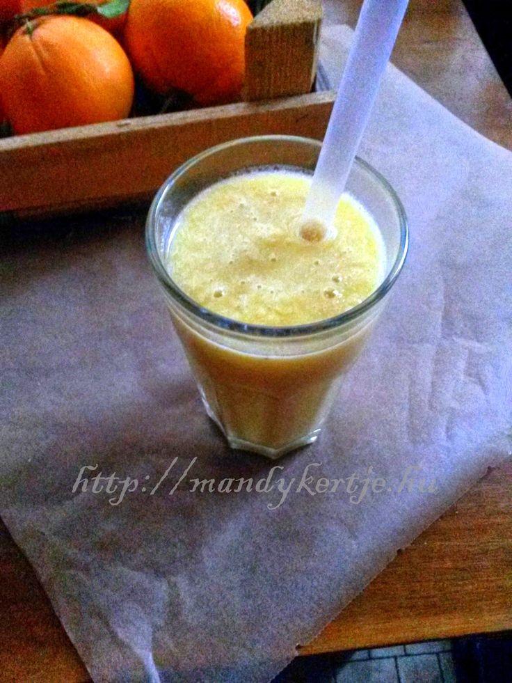 Mandy kertje és konyhája: Napfény smoothie