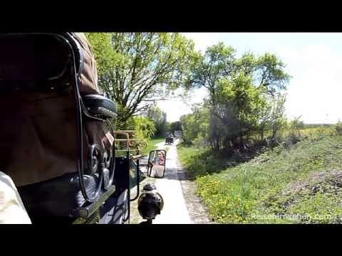 Video: Oldtimer-Tour durch die Mecklenburgische Schweiz