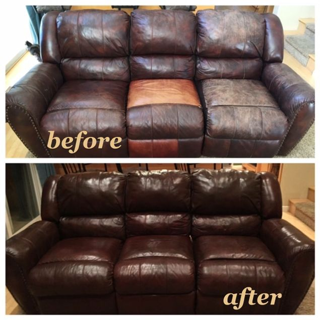 Mahogany Leather Furniture Dye Vinyl Dye Refinish Condition Leather Couches Living Room Leather Furniture Leather Couch Repair