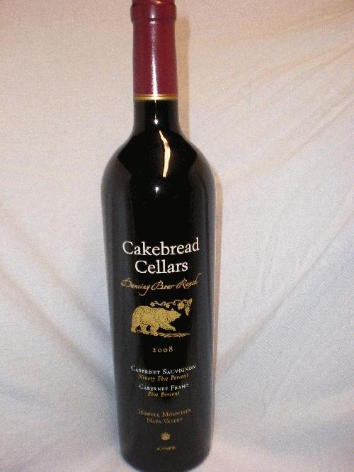 cakebread cellars dancing bear - my fave wine of all time!