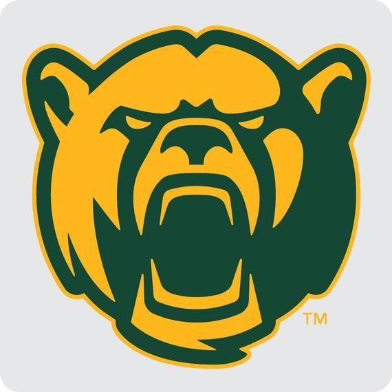 Baylor Bears Coasters Ncaa Clear Acrylic Square Coaster 3 Pack Baylor Bear Baylor Bears Logo Baylor