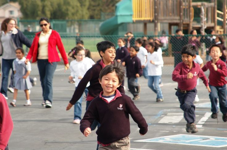 Look at this happy face! The Stratford School's Fremont Curtis campus held a Jog-a-Thon to help support their Pennies For Patients campaign. They raised $7,700!