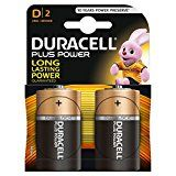 #10: Duracell Plus Power Type D Alkaline Batteries Pack of 2 #movers #shakers #amazon #electronics #photo