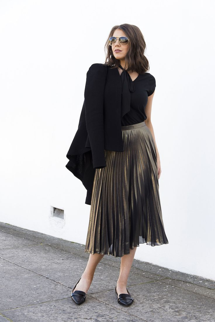How to wear metallics, How to style metallics, Metallics, Fashion, Gold, Rose gold, Silver