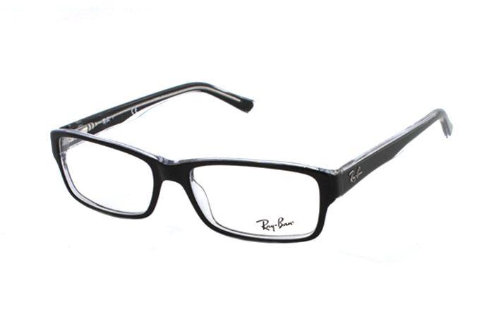 Ray-Ban RX5169 2034 Brille in top black on transparent   Schlicht und en vogue! Zu einem supergünstigen Preis erhalten Sie diese Brille in unserem Onlineshop. Super Modelle von Ray Ban in der aktuellen Kollektion.
