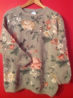 Laura Ashley Sweater, sized M