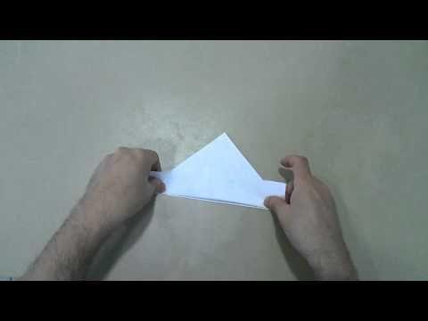 Βαρκούλα από χαρτί - YouTube