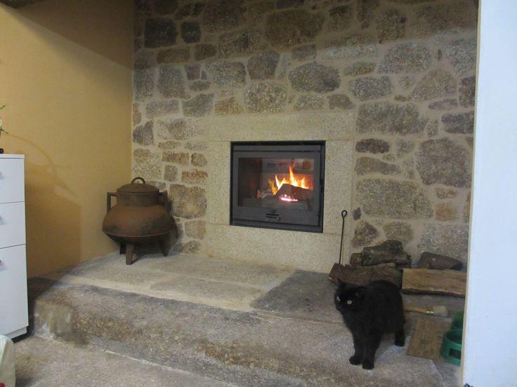 M s de 1000 ideas sobre revestimiento de piedra en - Revestimientos de chimeneas rusticas ...