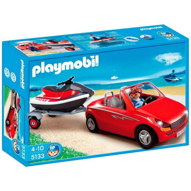Playmobil Cabrio και τρέιλερ με Jet-ski 5133