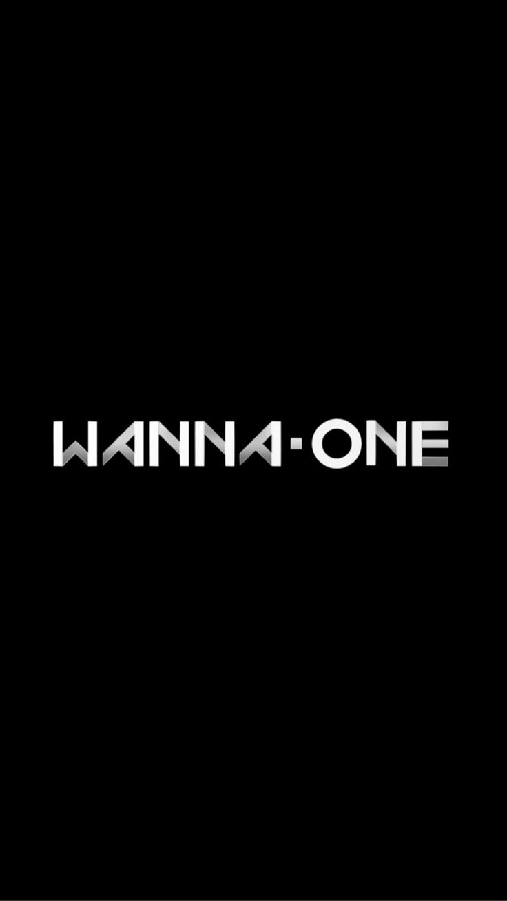 Wanna One logo wallpaper
