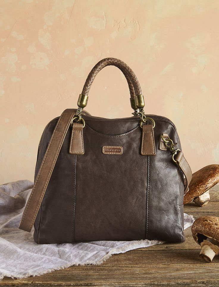 Jade Satchel - timeless leather satchel bag by Ellington® in rich and supple leather will be sure to delight.