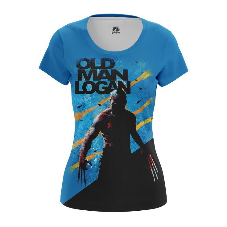 nice Girls T-shirt Old Man Logan Xmen Merch Gifts Collectibles
