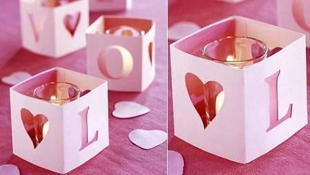 A ROMANTIC AND CUTE IDEA TO DECORATE YOUR CANDLES.