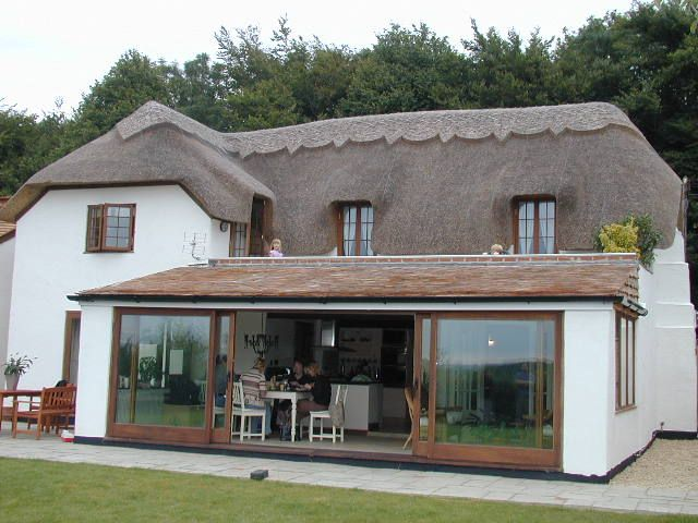 23 best images about listed thatched cottage extension for Cottage extension designs