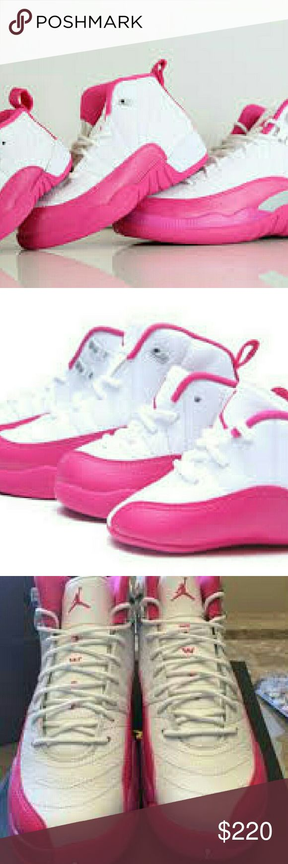 AIR JORDAN RETRO XII VALENTINE ALL SIZES AVAILABLE Air jordans all sizes available in retro xii Shoes Athletic Shoes