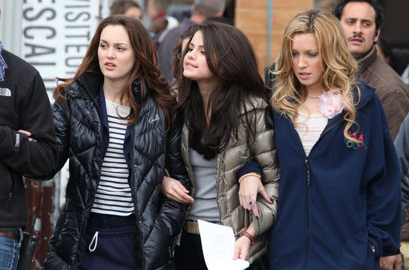 Leighton Meester Photos: Leighton Meester, Selena Gomez and Katie Cassidy Film 'Monte Carlo'
