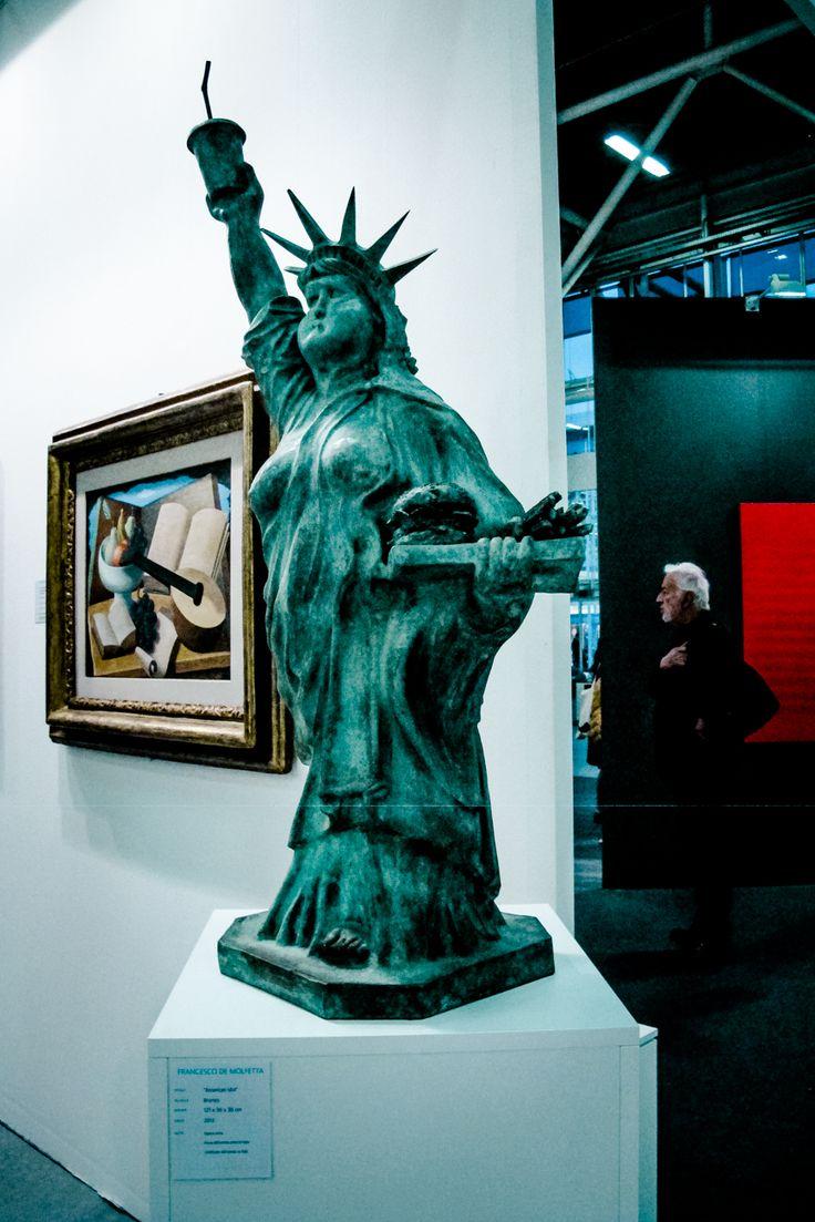 Arte Fiera 2016 Statua della Libertà