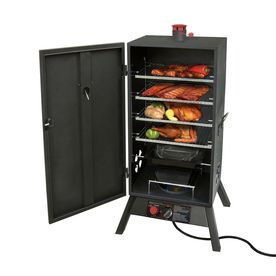 Landmann USA�Smoky Mountain 43.25-in 20-lb Cylinder Push and Turn Ignition Gas Vertical Smoker