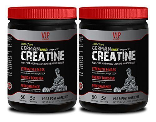 Natural energy booster for men - PURE GERMAN CREATINE POWDER - MICRONIZED CREATINE MONOHYDRATE CREAPURE 300G 60 SERVINGS - Sports supplements and nutrition >>> You can find out more details at the link of the image. #vitaminB #FF #vitaminA #FF #animals #vitaminB