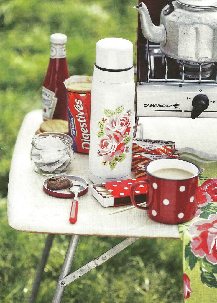 Camping with Cath Kidston - makes me want to go camping