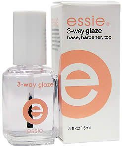 base & top coat. helps with nail polish chips!