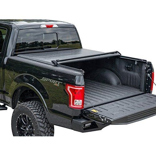 Premium Low Profile Roll Up Pickup Tonneau Cover Fits 2009-2014 Ford F-150 5.5' (66inch) Bed (Not Raptor Series) (w/out utility track system)