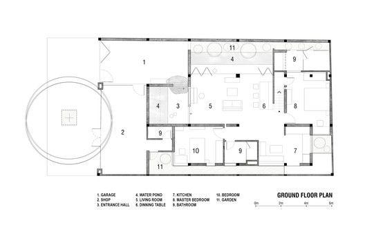 House 339,Ground Floor Plan