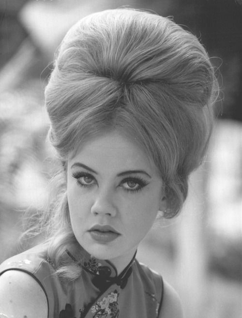 Hayley Mills with bouffant hair, 1967.