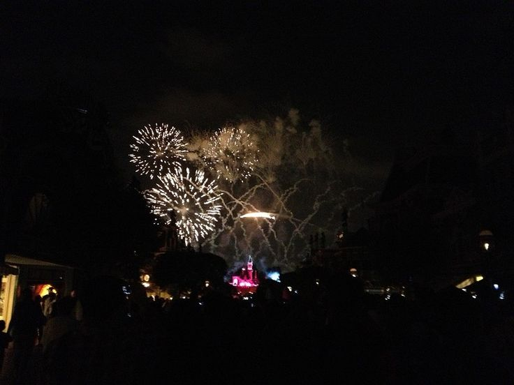 fourth of july disneyland fireworks