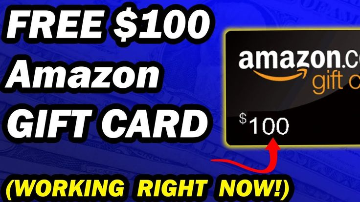 Free amazon gift card codes 2020 free 100 giveaway