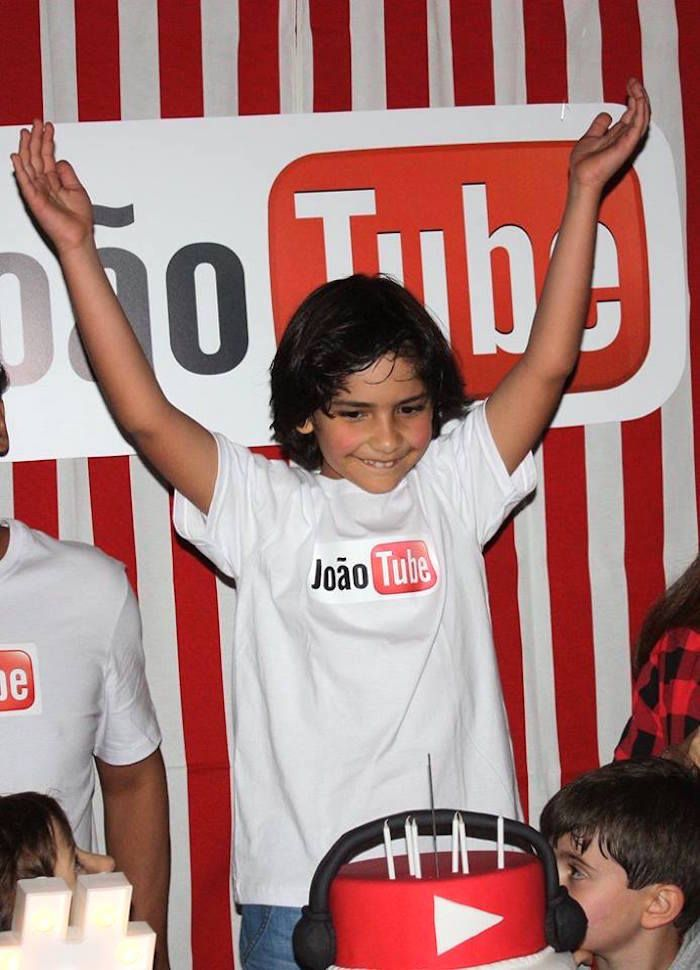 Youtube Themed Birthday Party Youtube Party Boy Birthday Party Themes Birthday Party Themes