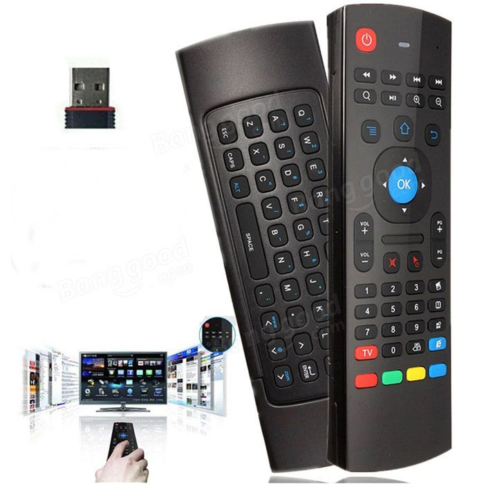 2.4GHz Fly Air Mouse Wireless Keyboard Motion Sensor Remote Control