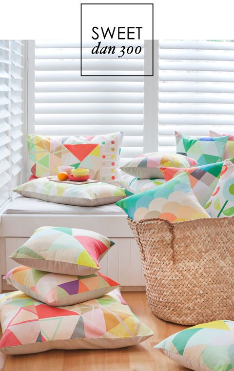 DAN300 #cushions #brights