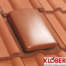 Klober Universal Tile Vent and Cap | Concrete Roof Tiles | Ventilation Voids