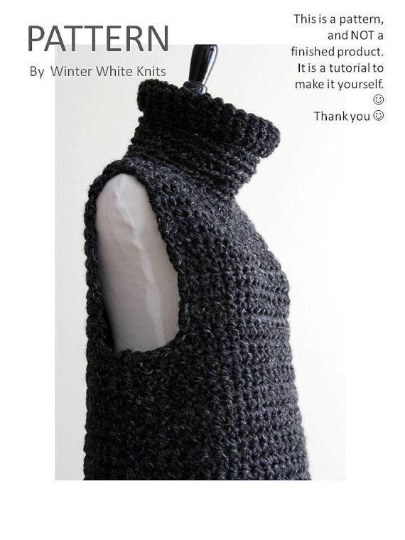 Make Your Own Knitting Pattern Online : 1000+ ideas about Crochet Vest Pattern on Pinterest Crochet Vests, Vest Pat...