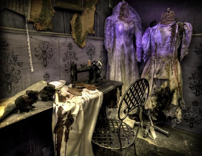 zombie bride room halloween haunted house ideas