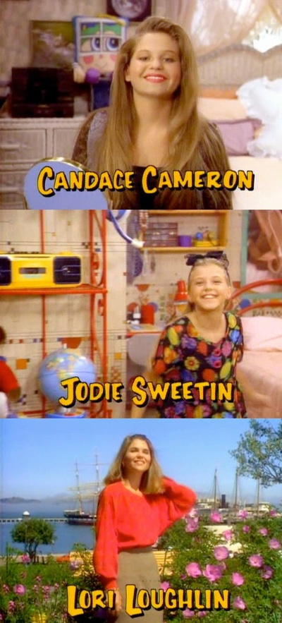Full House! Love these girls, all so inspirational @Candace Cameron Bure is my favorite of these girls!!