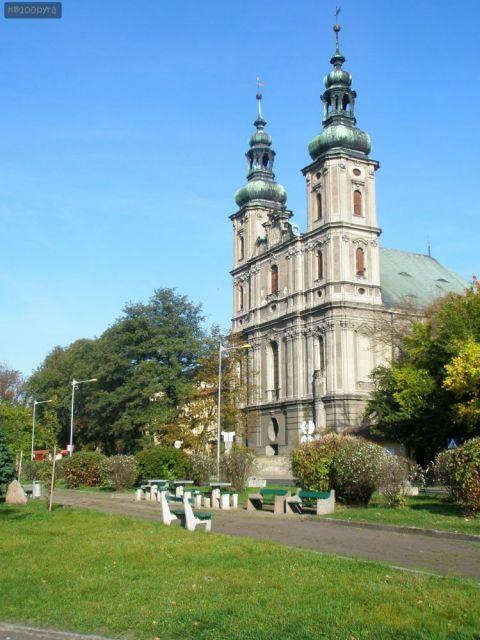Pl. Paderewskiego - kościół św.św. Piotra i Pawła