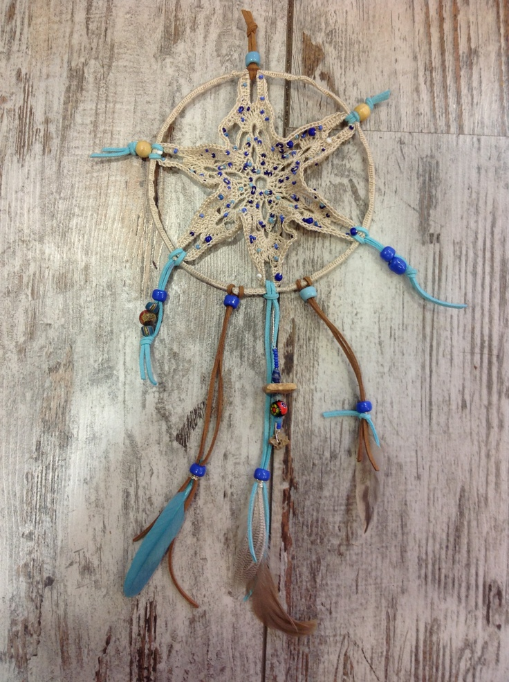 My First dreamcatchers totally Annamade !