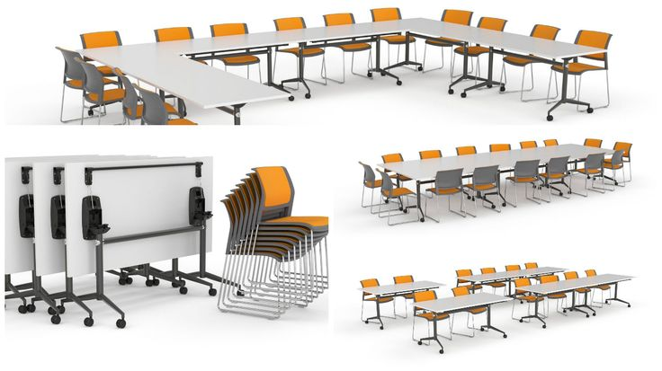 Combine our training tables with training chars to make the perfect training room or class room.  http://www.jpofficeworkstations.com.au/folding-tables/