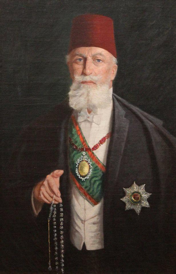 [Ottoman Empire] Self-Portrait of Last Caliph Abdulmejid Effendi (R;1922-1924) (Son Halife Abdülmecid Efendi'nin Otoportresi)