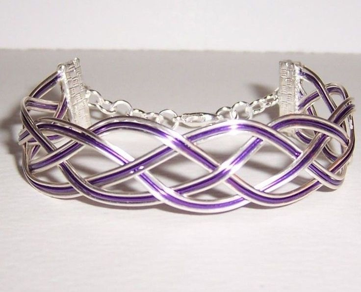 191 best Wire Woven Cuff Bracelets images on Pinterest | Wire ...