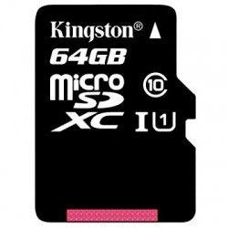 Kingston SDC10G2/64GB micro SD XC clase 10 64GB