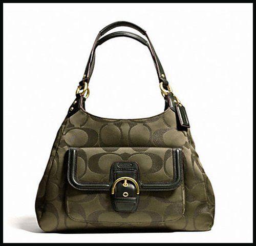 Coach COACH shoulder bag [F26245] Moss Campbell SIG. Starting at $1 on Tophatter.com!