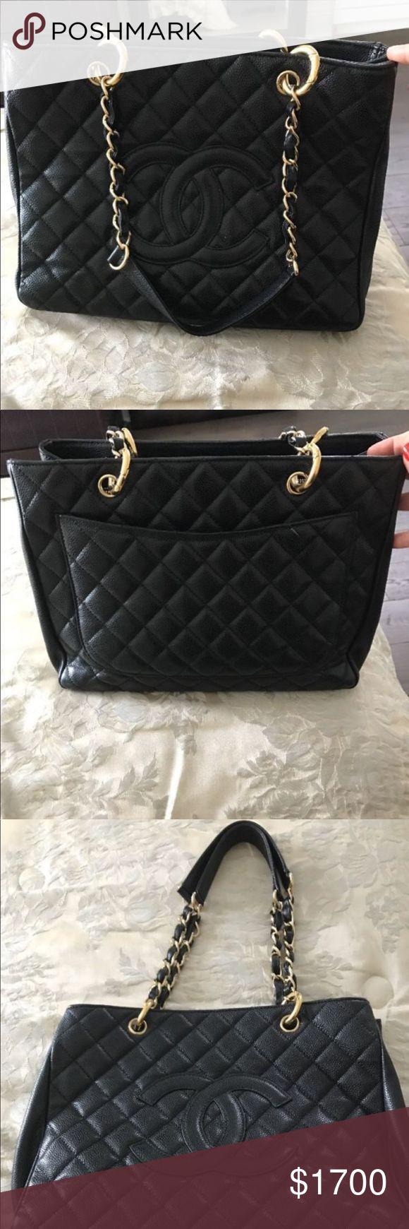 CHANEL BLACK VINTAGE LEATHER HANDBAG Brand New CHANEL Bags Shoulder Bags